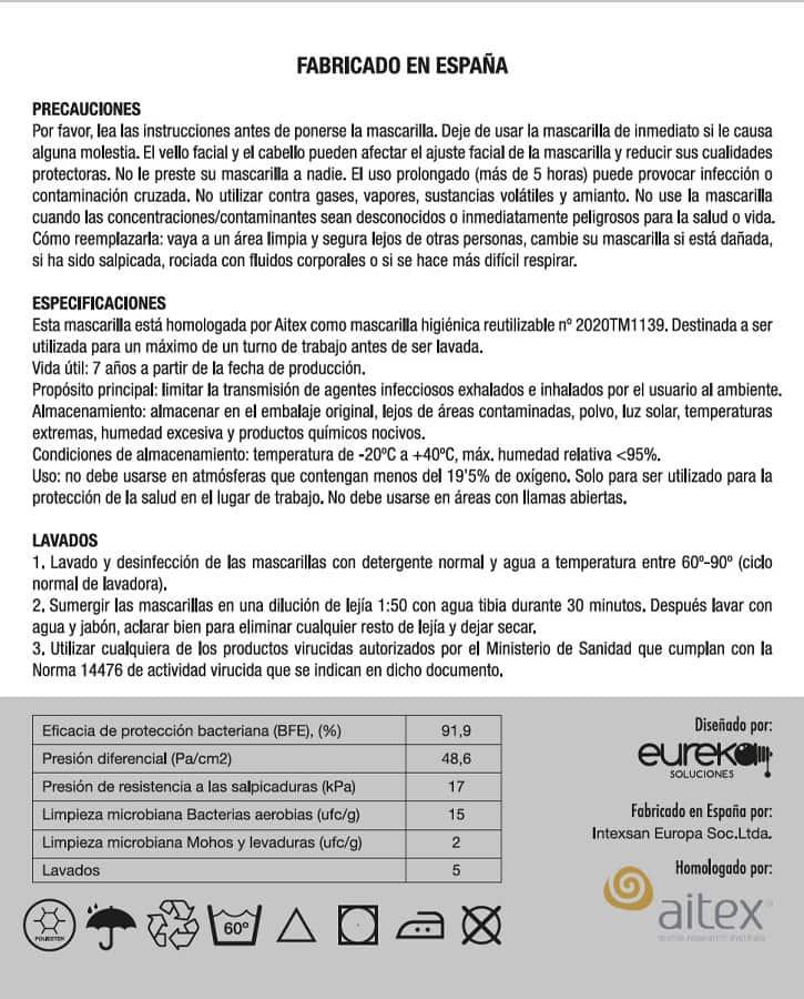 Mascarilla reutilizable. Comprar mascarillas baratas online para Coronavirus.